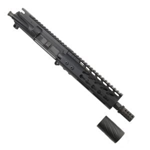 AR-15 Pistol Upper 5.56 7 inch KeyMod Slim Profile with MCBS