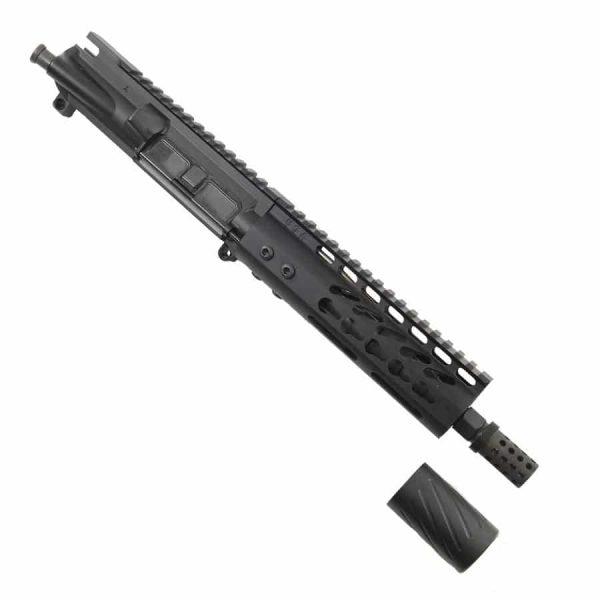 AR-15 Pistol Upper 5.56 7 inch KeyMod Slim Profile with MCBS