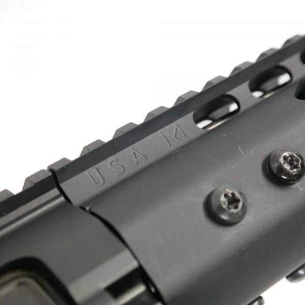 "LR 308 12"" Free Float Ultra Light Slim Profile M-LOK Handguard"