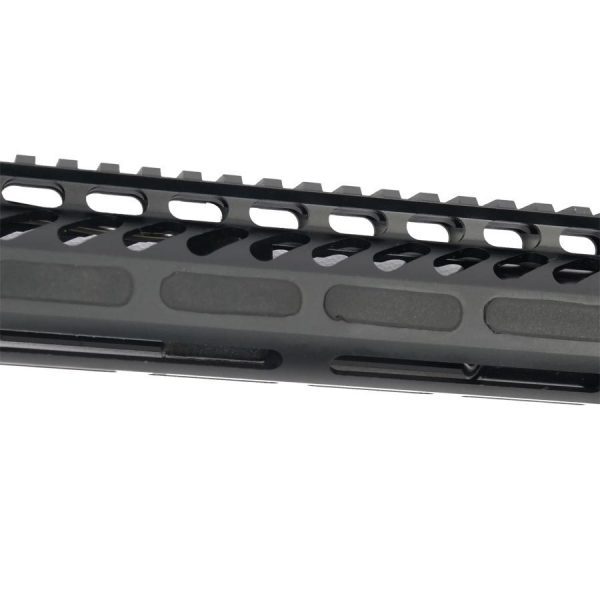 M-Lok MLok Rubber Plugs for M-Lok Handguards mounted