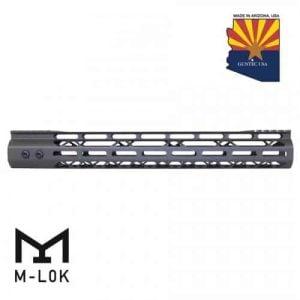 "AR-15 15"" Mod Lite Series M-LOK Handguard in OD Green"
