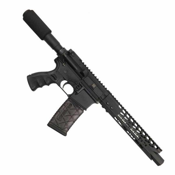 """AR 15 Pistol Upper 5.56 10"""" Custom KeyMod """"SHARK"""""""