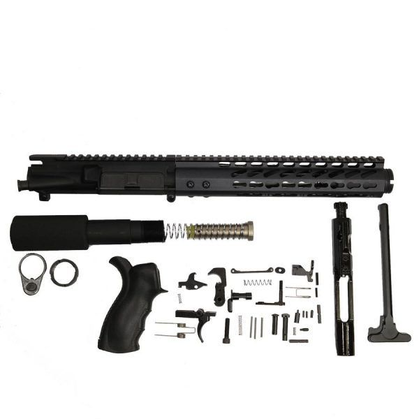 AR-15 Loaded Pistol Kit With RIP series Upper