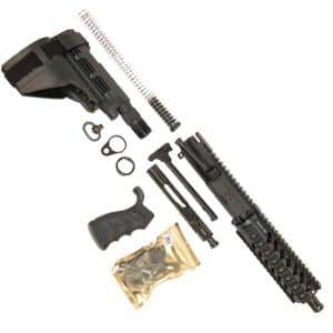 AR 90% Pistol Kit 5.56 with 7 inch Quad Rail and Sigtac SB15 Brace