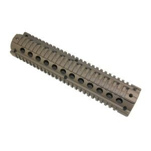 Rifle Length Rail Drop in Rail System Zero Movement in Creakote Magpul Dark Earth