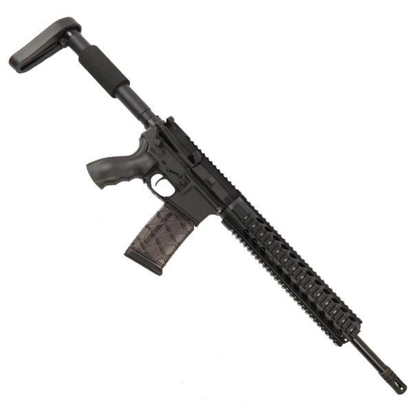 """AR-15 300 BlackOut Upper With 12"""" Free Float Quad Rail And A2 Cage"""