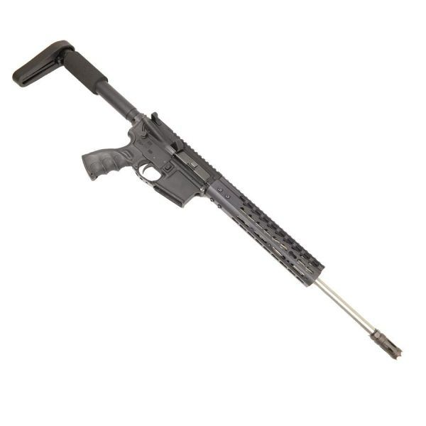 AR-15 Upper with KeyMod Spector Length Carbine Stainless Steel Barrel on Lower