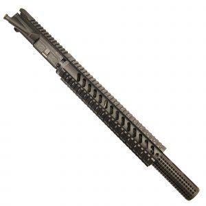 "AR-15 5.56 Upper With 12"" Free Float Quad Rail And Socom Mock Suppressor"
