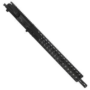 "AR15 5.56 Upper with 15"" Octagonal Super Light KeyMod Slim profilev and Match Grade Barrel With A2 Flash Hider"