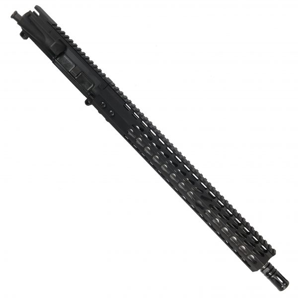 "AR15 5.56 Upper with 15"" Octagonal Super Light KeyMod Slim profilev and Match Grade Barrel With A2 Flash Hider"