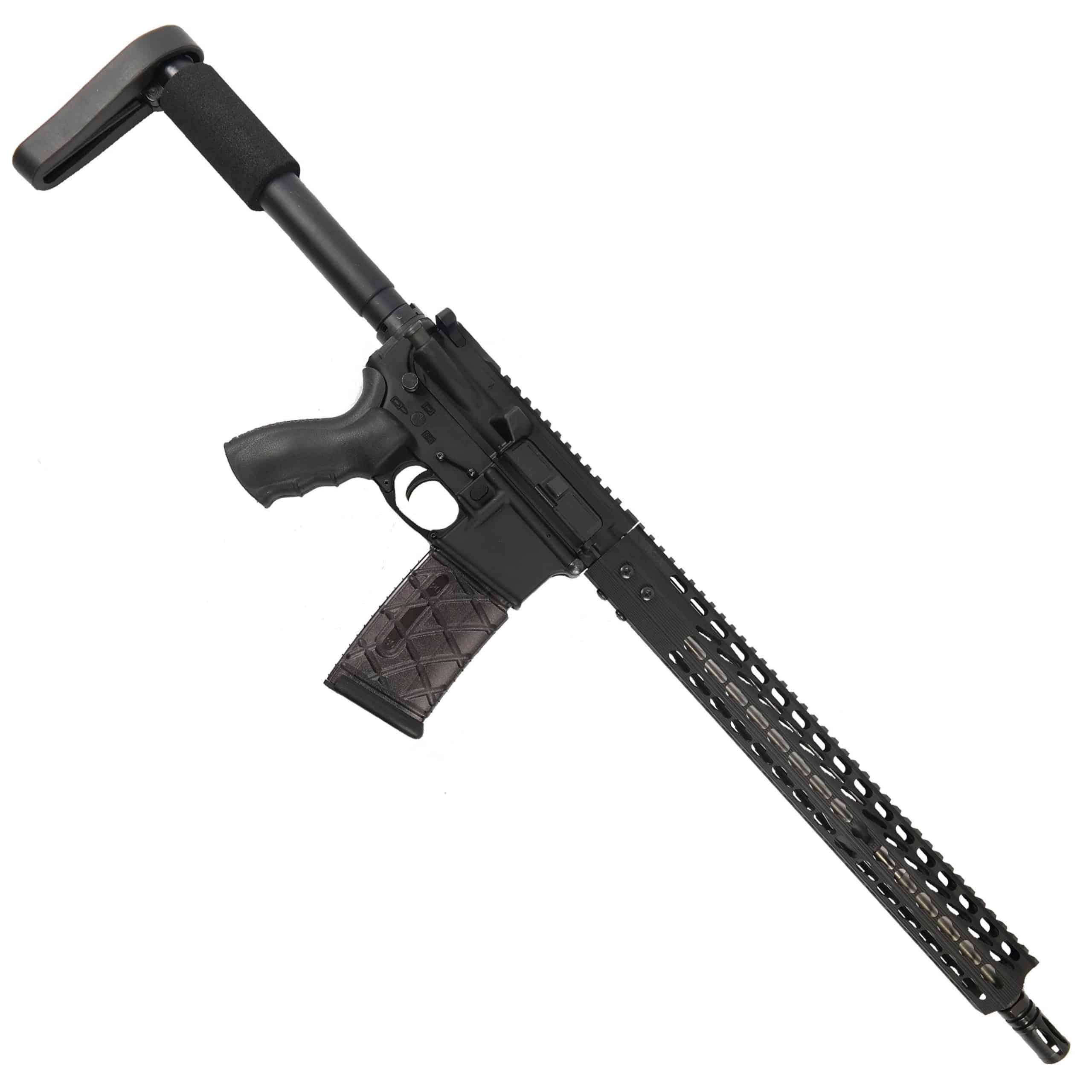AR-15 5 56 Upper with 15 inch Octagonal Match Grade Barrel