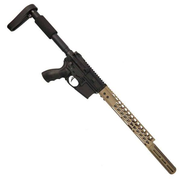 AR-15 5.56 Upper - Desert Rat 18