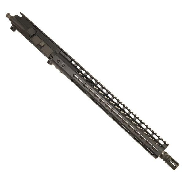 "AR15 300 AAC Blackout Upper with 15"" Lightweight KeyMod Slim Pofile"