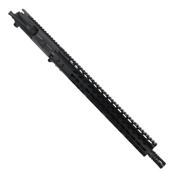 "AR15 300 AAC Blackout Upper with 15"" Lightweight KeyMod Slim Profile With Nitride Barrel"
