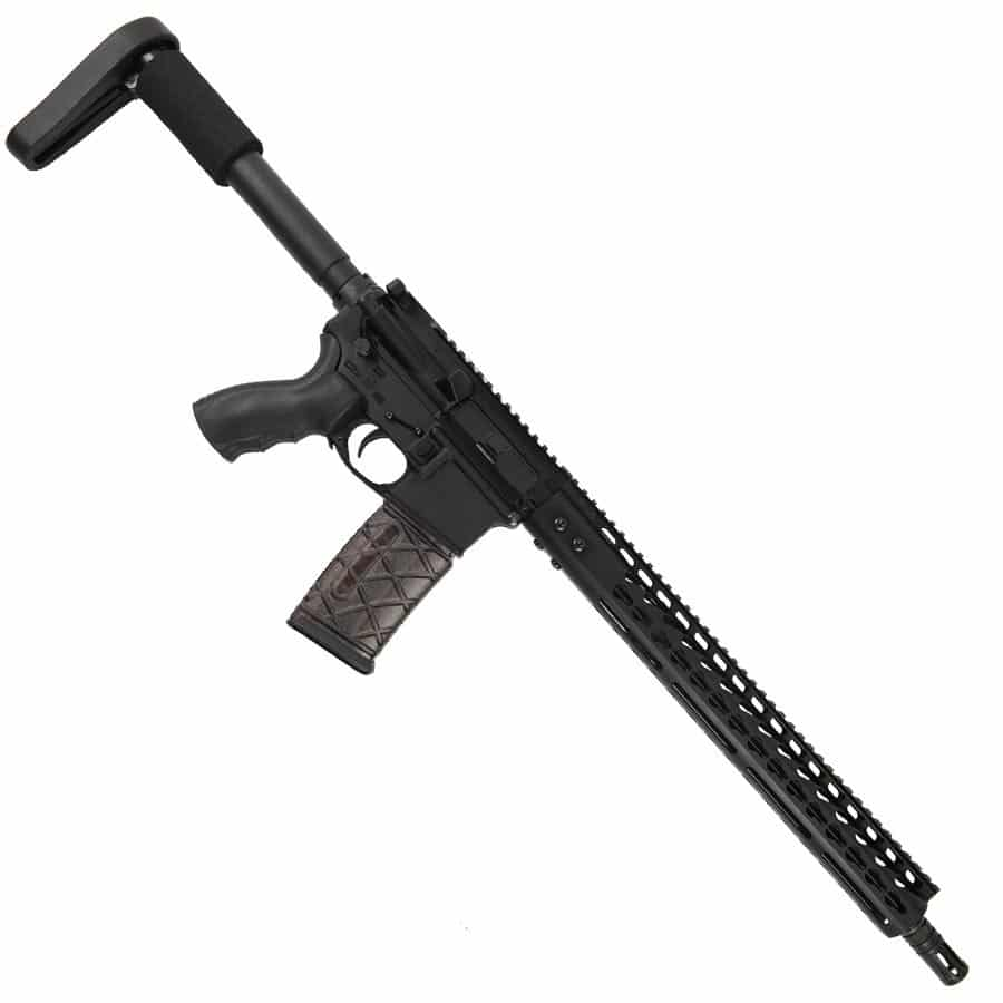 AR-15 300 AAC Blackout Upper 15 inch KeyMod Nitride Barrel