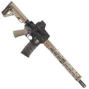 .458 Socom AR15 Upper Receiver Complete With FDE M-LOK Handguard