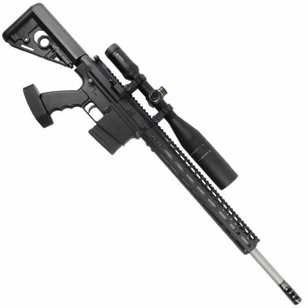 AR 6.5 Creedmoor Upper Receiver 15 inch Slim Profile M-Lok Handguard And 3 port Comp