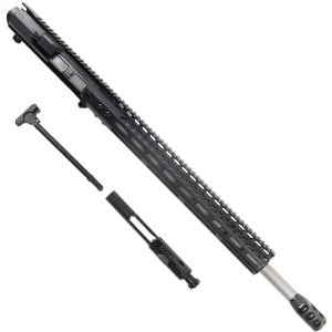AR 6.5 Creedmoor Upper 16.5 inch Slim M-Lok Handguard In Black