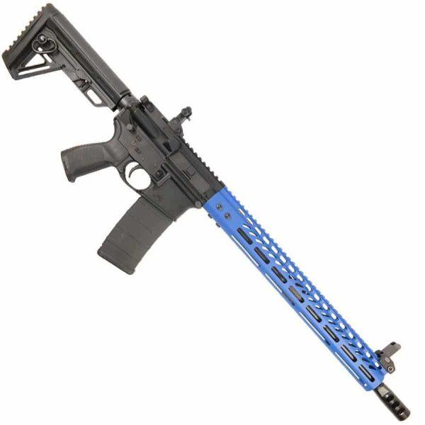 AR15 6.5 Grendel Complete Upper Receiver Complete Upper With Blue M-LOK Handguard