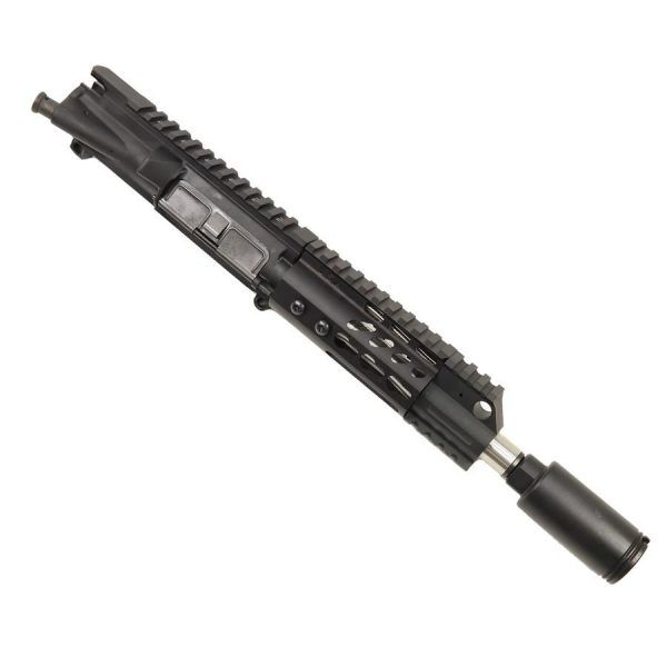 AR-15 Pistol Upper with Short KeyMod and Cone Flash Hider
