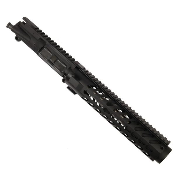 "AR 15 Pistol Upper 5.56 10"" KeyMod Large Profile RIP Series Black"