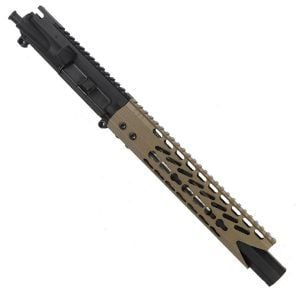 "AR 15 Pistol Upper 5.56 10"" Custom KeyMod Octagonal ""SHARK"" version 3"