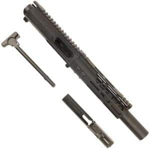 AR15 9MM Complete Upper Receiver Elite Series In Black