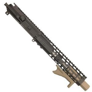 "AR 15 Pistol Upper 5.56 10"" KeyMod Air Lite Blaster series Version 2"