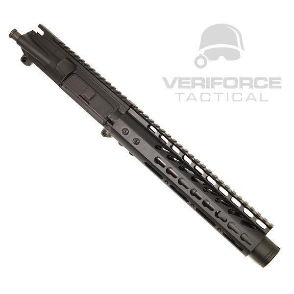 "AR 15 Pistol Upper 5.56 9"" KeyMod Slim Profile RIP Series Black"