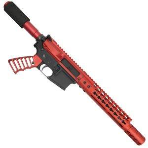 AR15 Red Pistol