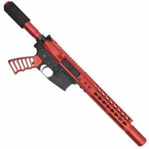 AR15 Red Pistol