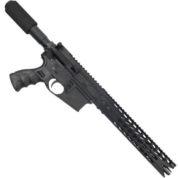 AR-15 10.5 Pistol Upper With 11.5 Inch Octagonal Shark Mouth Handguard