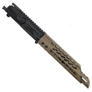 AR-15 Pistol Upper RIP KeyMod in Magpul Flat Dark Earth