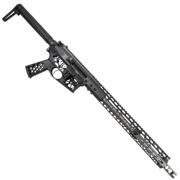 AR-15 5.56 Custom Rifle Upper In Sniper Grey
