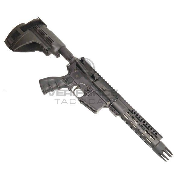 Custom AR 15 Pistol Upper 5.56 Spike Front in Beast Series pistol