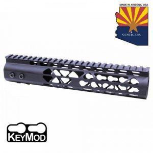 "AR-15 Diamond Series 10"" KeyMod Free Float Handguard In Black"