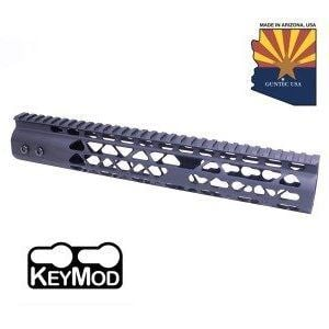 "AR15 Diamond Series 12"" KeyMod Free Float Handguard Black"