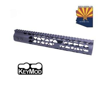 "AR15 Diamond Series 12"" KeyMod Free Float Handguard Black"