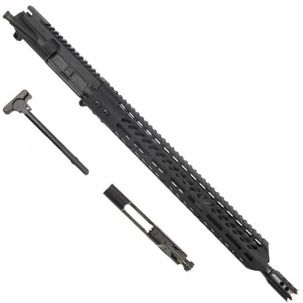 AR15 6.5 Grendel Complete Upper Receiver Warhead Series In Black