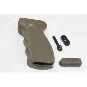 AK-47 Large Rubber Rear Grip In OD Green