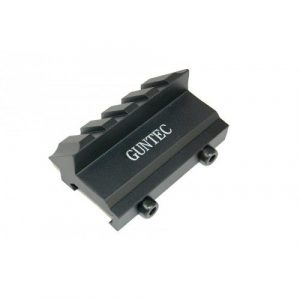 45 Degree 4 slot AR-15 AK-47 Mount for Picattiny Rails