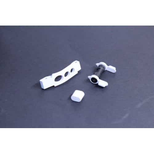 AR-15 Lower Receiver Enhancement Kit In Arctic White