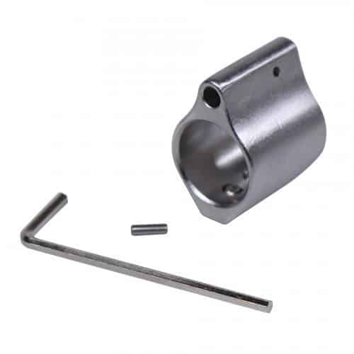 AR-15 Matte Finish Stainless Gas Block