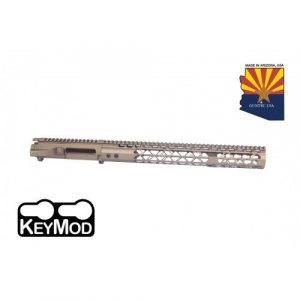 AR-15 Stripped Upper Receiver With Air Lite Handguard Set In Burnt Bronze