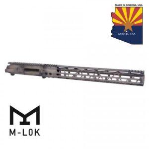 AR-15 Stripped Upper Receiver Air Lite Handguard Tungsten