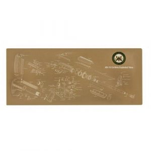 Guntec USA Armorers Gun Cleaning Building Mat