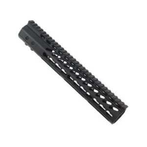 "LR 308 12"" Free Float Ultra Light Slim Profile KeyMod Handguard"