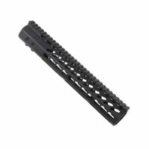 "LR 308 12"" Free Float Ultra Light Slim Profile KeyMod Handguard"