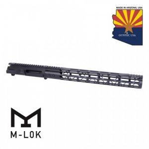 AR-15 Stripped Upper Receiver With Mod Lite M-LOK Handguard