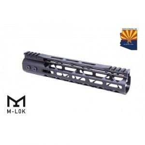 "AR-15 10"" Mod Lite Series M-LOK Free Float Handguard In Black"